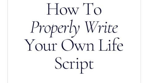 How to properly write your own life story