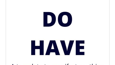 Be, Do, Have – A template to manifest anything you want